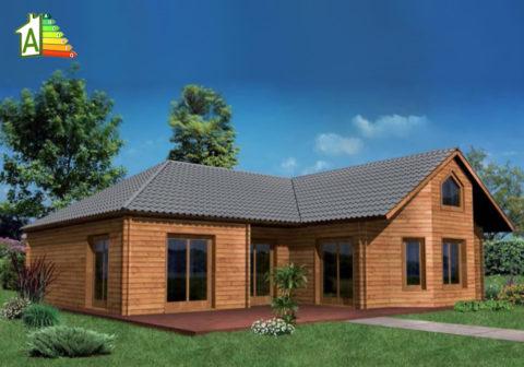 Casa de madera eco 135
